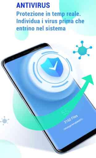 GO Security-AntiVirus, Blocco app, Booster 1