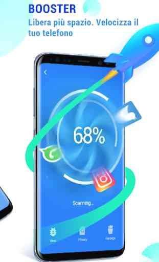 GO Security-AntiVirus, Blocco app, Booster 3