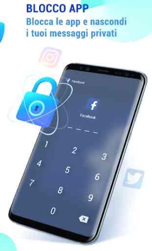 GO Security-AntiVirus, Blocco app, Booster 4