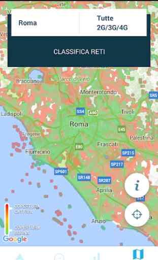 Mappe 3G 4G 5G WiFi & Speed test 3