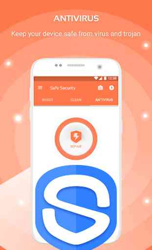 Safe Security -  Antivirus, Booster, Phone Cleaner 3