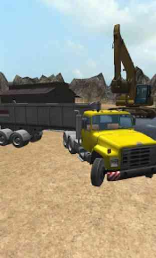 Construction Truck 3D: Asphalt 1