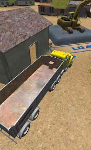 Construction Truck 3D: Asphalt 4