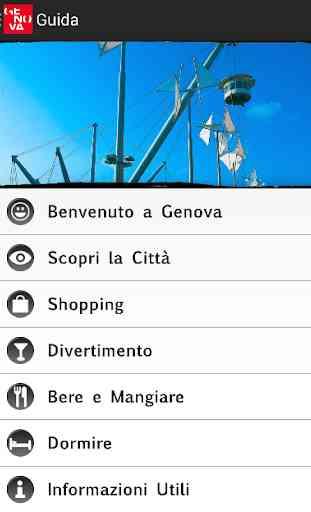 Genova official guide 2
