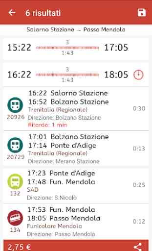 Orario Alto Adige 3