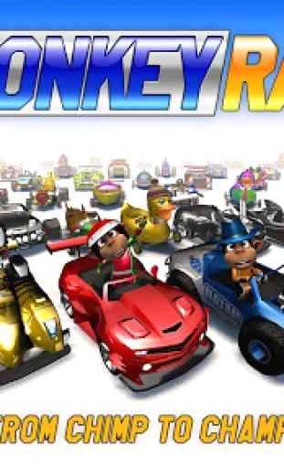 Monkey Racing Free 1