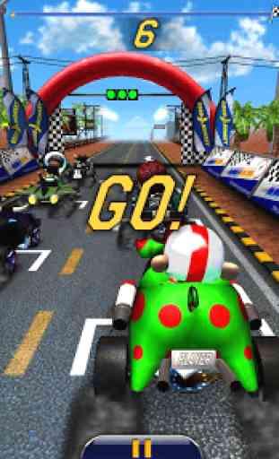Monkey Racing Free 3