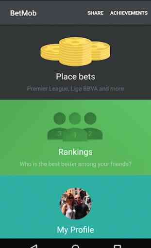 Football betting with BetMob 1
