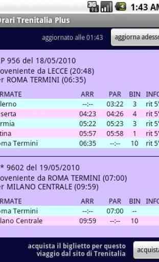 Orari Treni Plus - orari treni e ritardi 2