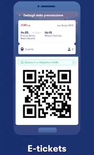 Omio: Compra Biglietti Treni, Bus e Voli in Europa 2