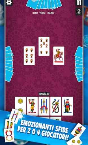 Traversone Più - Giochi di Carte Social 2