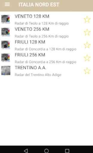Meteo Radar Veneto Trentino 3