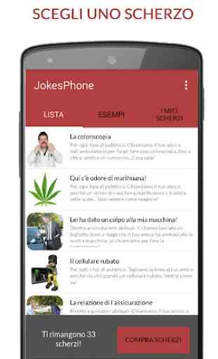 Jokesphone - Scherzi Telefonici 1