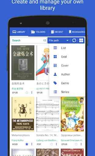 PDF Reader - per tutti i documenti e i libri 1
