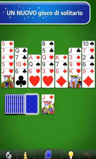 Crown Solitaire gioco di carte 1