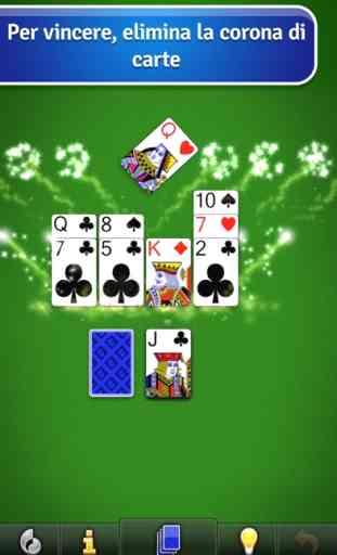 Crown Solitaire gioco di carte 2