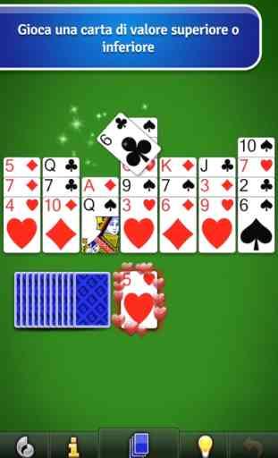 Crown Solitaire gioco di carte 3