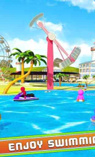 acqua Parco acqua Diapositiva divertimento 2