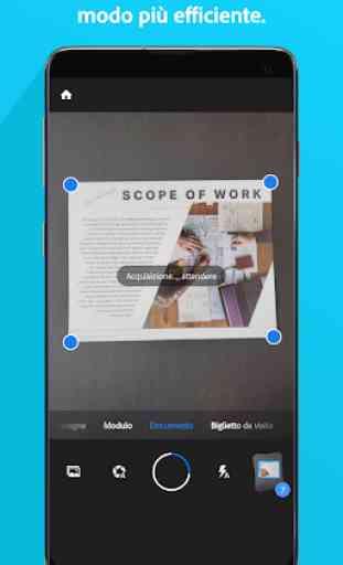 Adobe Scan: scanner PDF, OCR 1