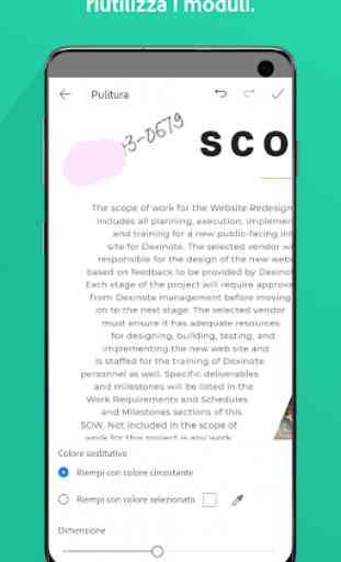 Adobe Scan: scanner PDF, OCR 2