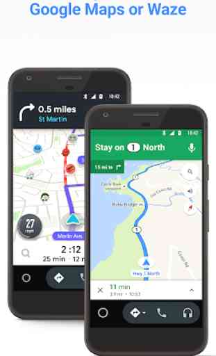 Android Auto per i telefoni 2