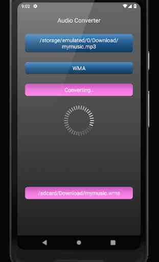 Audio Converter: mp4, mp3, wav, m4a, aac etc. 4