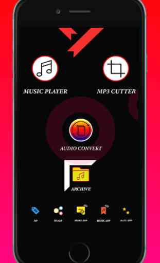 Audio MP3 Cutter Mix Converter - Mp3 Music Player 2