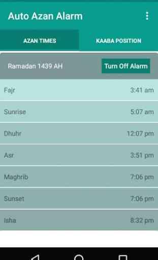Auto Azan Alarm 3