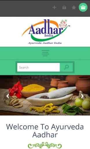Ayurveda Aadhar India 1
