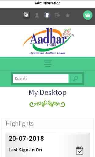 Ayurveda Aadhar India 3