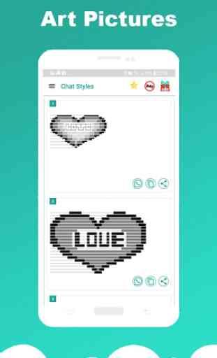 Chat Styles: testo e carattere eleganti Whatsapp 2