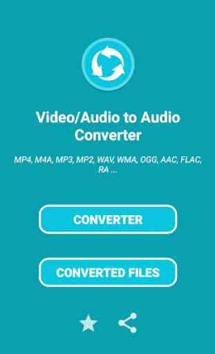 Convertitore audio - Tutti i formati 1