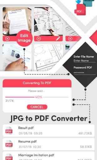 Convertitore da JPG a PDF gratuito 1