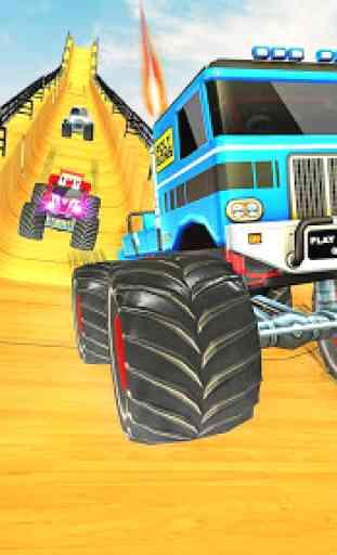Crazy Monster Truck Driving Fun 2