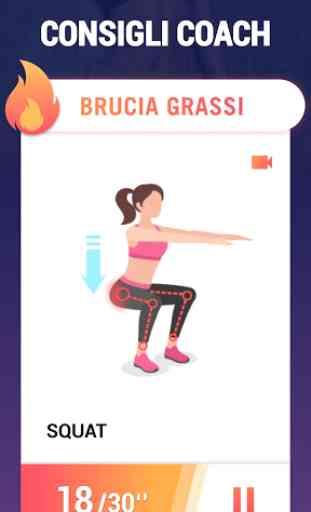 Esercizi bruciagrassi - esercizi per perdere peso 4
