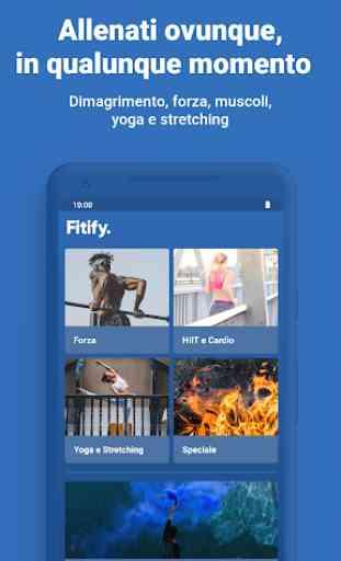 Fitify: Allenamenti e programmi di fitness a casa 2