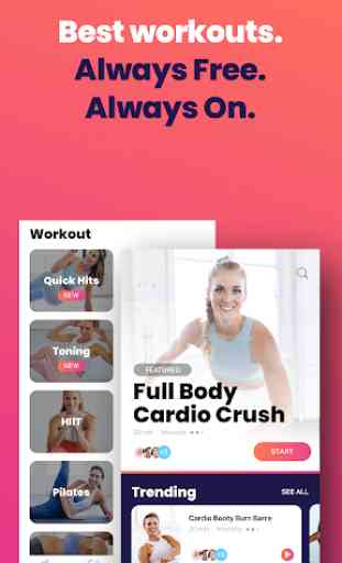 FitOn - Free Fitness Workouts & Personalized Plans 1
