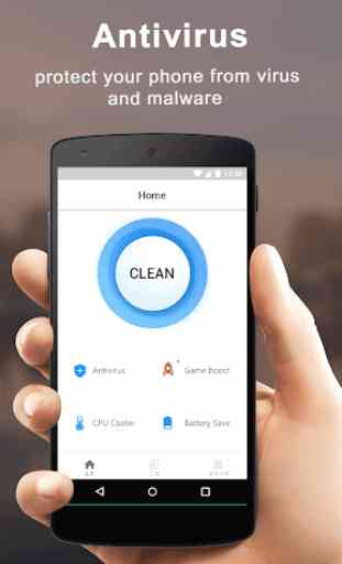 Free Phone Cleaner - Cache clean & Security 2