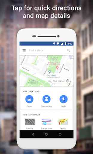 Google Maps Go - Indicazioni, traffico e trasporti 1