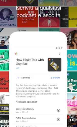 Google Podcasts: podcast gratuiti e di tendenza 2