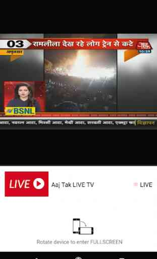 Hindi LIVE News channels, newspapers & websites 1