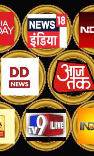 Hindi News Live TV , Live TV NEWS ,NEWS 1