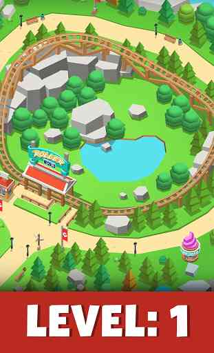 Idle Theme Park Tycoon - Recreation Game 1