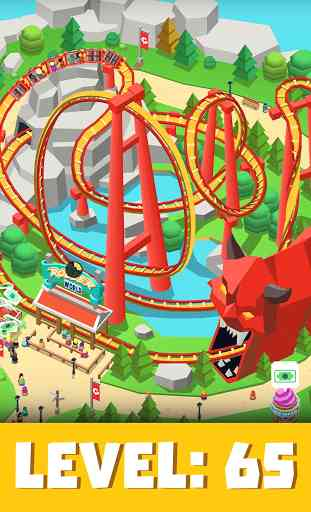 Idle Theme Park Tycoon - Recreation Game 3