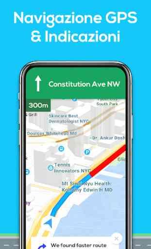 Mappe di navigazione GPS 1