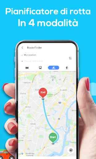Mappe di navigazione GPS 3