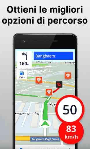 Mappe e navigazione offline 3