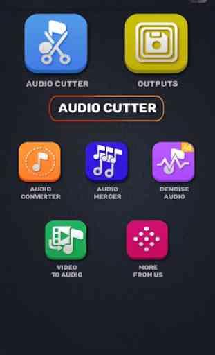 MP3 WAV AAC M4A Audio Cutter, Converter, Merger 2