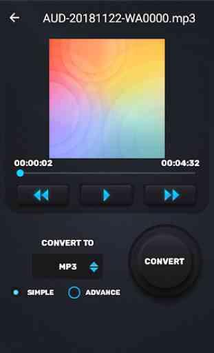 MP3 WAV AAC M4A Audio Cutter, Converter, Merger 4