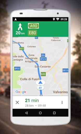 Navigatore per Google Maps Go 1
